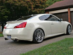 Infiniti G37 with Forgestar f14 wheels